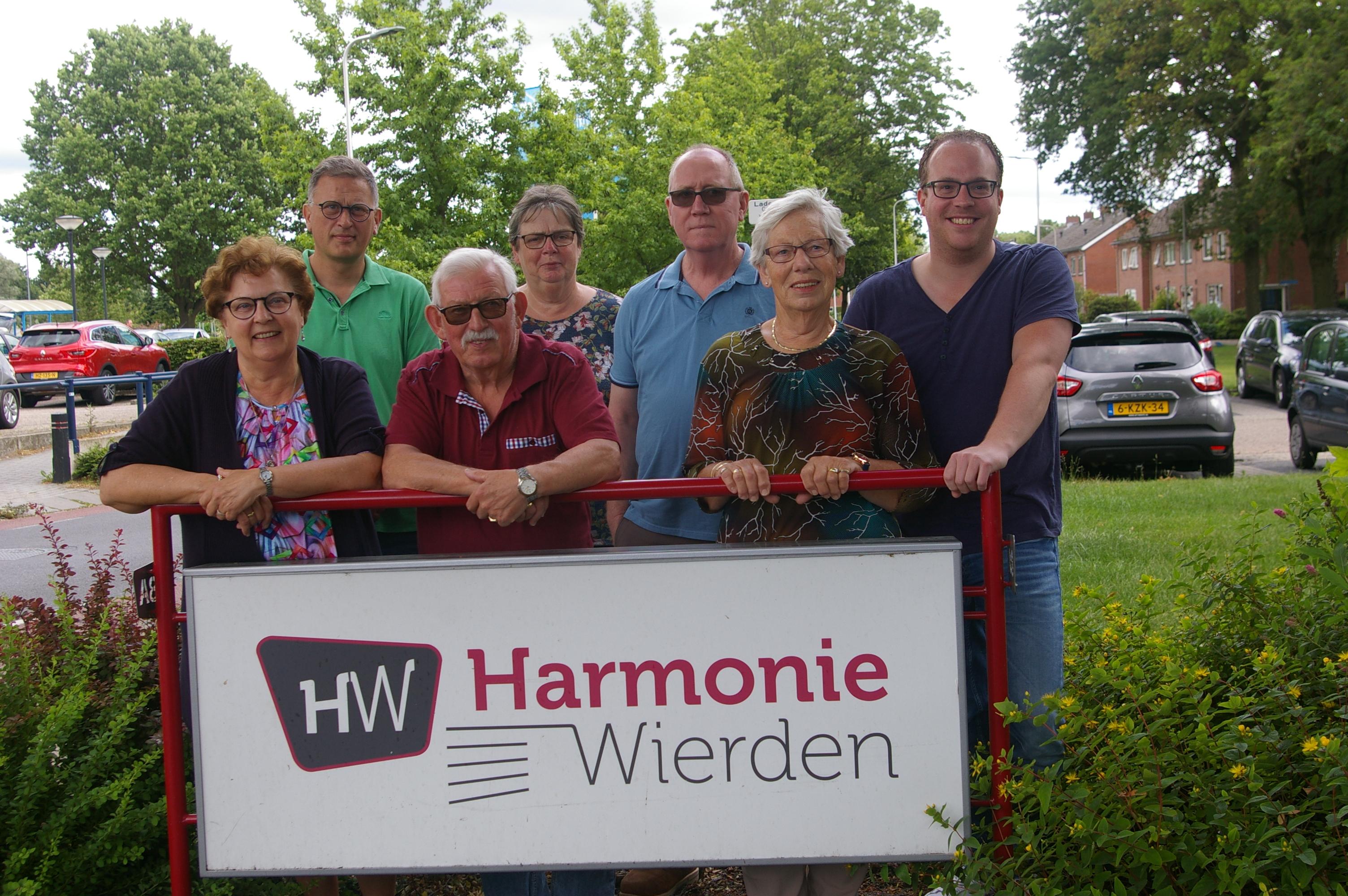 2019 bestuur muziekcommissie HW